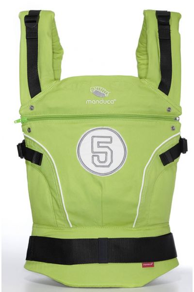 Manduca High Five lime - Limited Edition