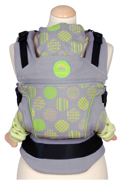 Manduca Polka Green - Limited Edition
