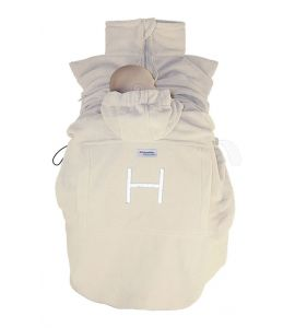 "Hoppediz Fleece-Cover ""Basic"" sand"