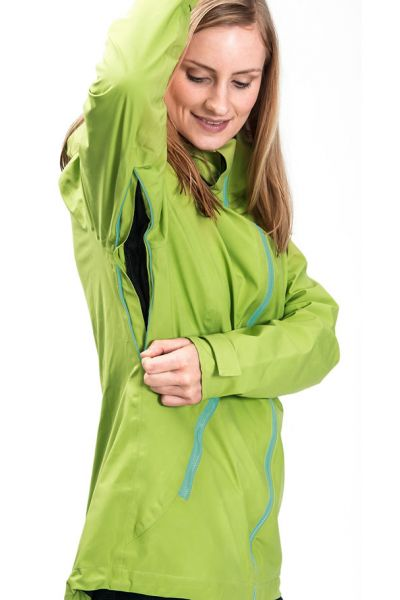 mamalila Outdoor-Tragejacke apfelgrün