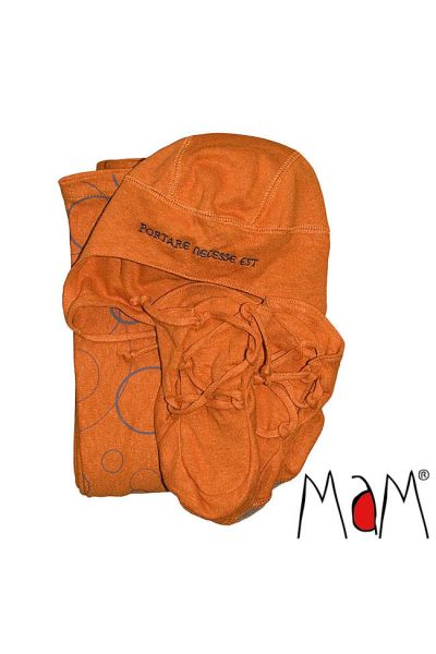 MaM ECO-Babytrage-Set - California Poppy